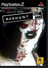 MANHUNT ps2 5026555301565 nuovo rare prima release