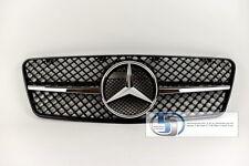 Mercedes W208 CLK Single FIN Grille Grill CLK320 CLK430 1 Fin Style Black 97~02