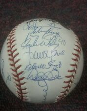 2003 Yankees Team Signed World Series ball Rivera,Jeter,Posada 32  autos PSA