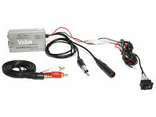 Wired FM Modulator transmitter AVFMMOD01 iPod iPhone MP3 mobile in car music aux