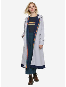 NEW XL MD 13th DOCTOR WHO BBC Her Universe Halloween Costume cosplay Trench Coat