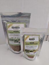 Alfalfa Organic Sprouting Seeds