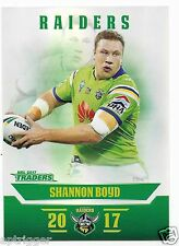 2017 NRL Traders Parallel Special (PS013) Shannon BOYD Raiders