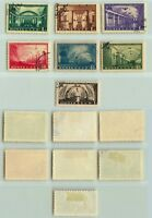 Russia USSR 1950 SC 1481-1487 used . d1650