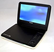 "Philips PD9000/37 9"" LCD Widescreen Portable DVD Player White/Blk car DivX dvdr"