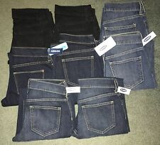 LOT OF 8 WOMENS OLD NAVY THE FLIRT JEANS NWT