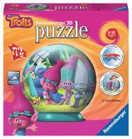 12197 Ravensburger Trolls 3D Puzzle 72 Piece Jigsaw Children Kids Girls 6+