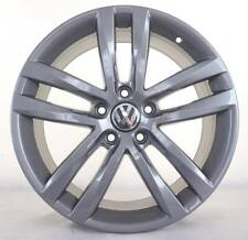 "Set di ORIGINALI VW GOLF 5 6 7 GTI CERCHI 18"" in grafite 7,5x18 et51 5g0601025af"