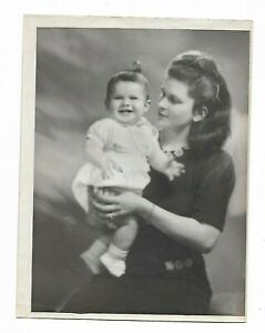 6 x 9 original Marcus Adams Photo Mrs. Ian Debenham & Son Michael