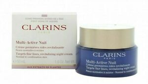 Clarins Multi-Active Nuit Revitalizing Night Cream Norm/ Dry Skin 1.7oz Sealed