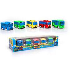 2018 New 5Pcs/set Mini Cartoons Tayo The Little Bus Model Children Mini Tayo Bus