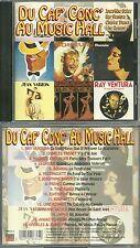 CD - MUSIC HALL avec JOSEPHINE BAKER, RAY VENTURA, TINO ROSSI, LINE RENAUD, ...