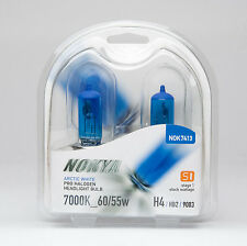 Nokya H4/9003 Headlight Bulbs - Arctic White 7000K 60/55W (Stage 1)
