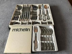 Michelin Besteck Ostfriesen-Muster 36 Teile 18/8 Polida