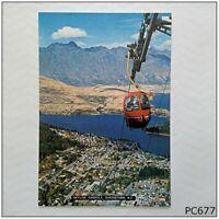Skyline Gondola Queenstown NZ Postcard (P677)