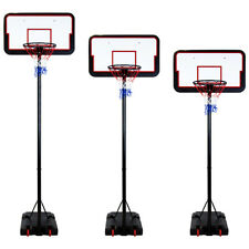 Basketball Net Height Adjustable 205-305cm 3 Meter Hoop Weighted Backboard Stand