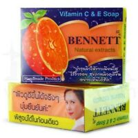BENNETT Vitamin C & E Soap Natural Extracts Acne Aid Anti-Aging Skin Soap 130g