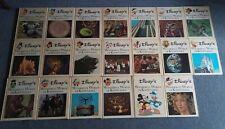 More details for vintage disney's wonderful world of knowledge 1970's - full set of 20