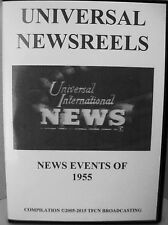 UNIVERSAL NEWSREELS 1955 (DVD)
