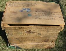 WWII Hershey Chocolate Bar Ration Crate, 1st Combat Camera Send Back