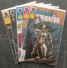 Archie VS. Predator  #1 - #4 SET of 5 Books complete !!  VF/NM POWELL VARIANT #1