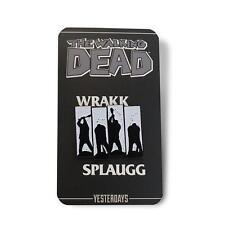 THE WALKING DEAD Negan Wrakk Splaugg Pin