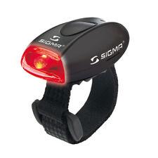 Sigma Micro Lampe Rote LED Rot Rücklicht Rück Licht Laufen Helm Warnlicht Klett