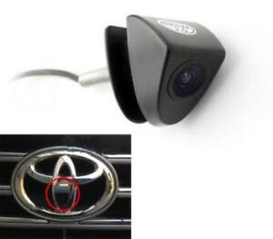 Car Auto HD Front View Camera Logo Embedded 170° Wide Lens For Camry Corolla New
