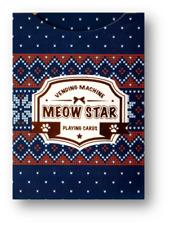 Meow Star (Knitted Sweater) Playing Cards by Bocopo Poker Spielkarten Katzen