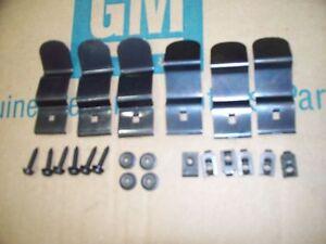 69 Chevy Camaro  DASH PAD MOUNTING INSTALLATION KIT set clips & screws   22 pc