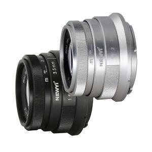 NEWYI 35mm F1.6 Lens For Canon SONY Fujifilm FUJI Olympus Panasonic Camera