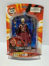 "DOCTOR WHO BBC SYCORAX LEADER 5"" ACTION FIGURE"