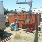 C lift 5 ton steel 8 inch channel with gussets boat yacht engine lift