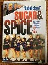 Sugar and Spice DVD 2001 Cheerleader Crime Movie Comedy w/ Mena Suvari