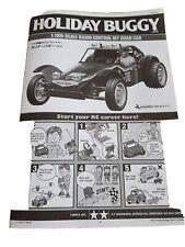 Tamiya Holiday Buggy Manual