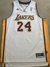 Kobe Bryant LA LAKERS White Swingman Jersey Men's Size Large