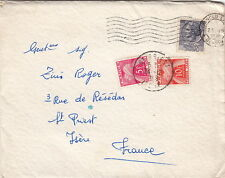 Lettre Rivarclo Italy + Timbre Taxe pour la France 1959 >> Carte Naissance Cover