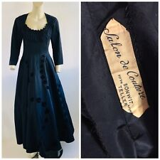 Vintage 1940s Salon De Couture Bonwit Teller 5th Ave Evening Gown