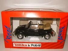 VOLKSWAGEN Cox Herbie Black Noire Cabriolet par POLISTIL 1/25 no 1/24