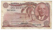Malawi - 1975, 1 Kwacha