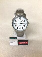 Timex Mens Easy Reader Classic Indiglo Watch #2N091( extra long expansion band )