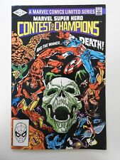 Marvel Super Hero Contest of Champions #3 FN+ Condition!