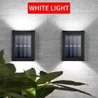 2pcs Solar Wall Lights Up & Down Lamp Decor Waterproof Garden Outdoor Fence Yard