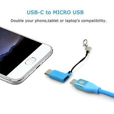 New USB Cable Mini Micro USB Female to Type C 3.1 Male Adapter USB C Converter