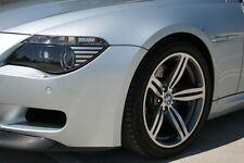 Silver Corner Light Covers Amber for BMW E63 E64 650i M6 Headlights Headlamp 4pc