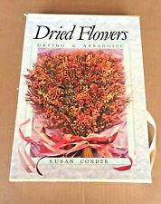 Dried Flowers Silk Flowers Drying, Arranging, Ribbon Flowers 2 Books Condor Hami
