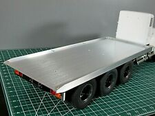 "19"" Aluminum Flat Bed FlatBed Section""ONLY"" for Tamiya 1/14 RC King Grand Hauler"