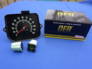 NEW 1968 Chevrolet Chevelle 120 MPH Speedometer OER Parts 6492545 GM Licensed