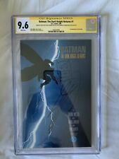 Batman: The Dark Knight Returns # 1 CGC SS 9.6 Signed By Miller & Sketch Janson