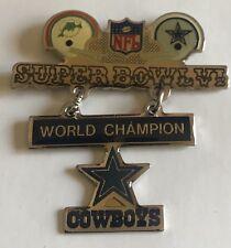 Collectible & Vintage NFL Dallas Cowboys Miami Dolphins Super Bowl VI Pin